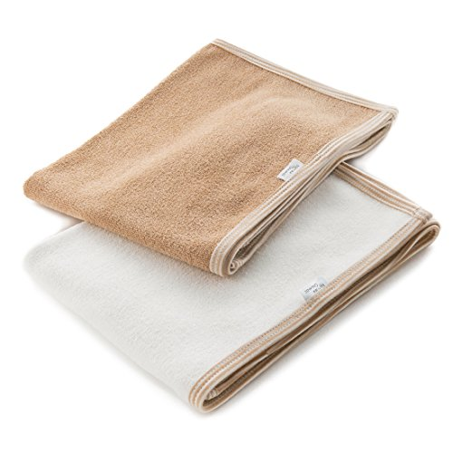 Organic Cotton Luxury Face Towel (Brown)