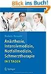 An�sthesie, Intensivmedizin,  Notfall...