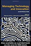img - for Managing Technology and Innovation: An Introduction by Verburg, Robert M., Ortt, J. Roland, Dicke, Willemijn M. 1st edition (2005) Paperback book / textbook / text book