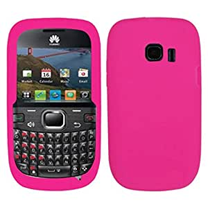 Asmyna HWM636CASKSO008 Slim and Soft Durable Protective Case for Huawei Pinnacle 2 - 1 Pack - Retail Packaging - Hot Pink