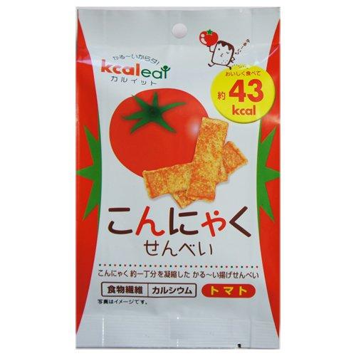 カルイット こんにゃくせんべい(トマト) 10g