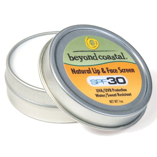 Beyond Coastal Natural Lip And Face Screen (1-Ounce)