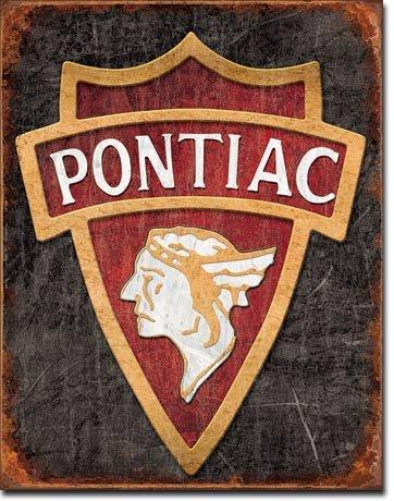 pontiac-1930-logo-plaque-metal-plat-nouveau-31x40cm-vs3371