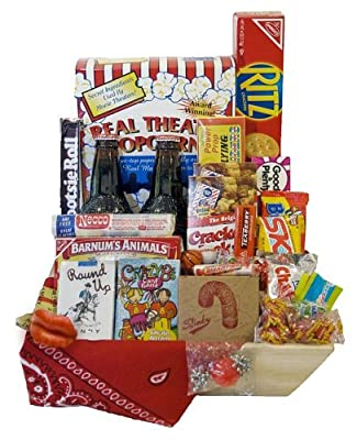 This is a photo of 'Sweet Nostalgia Birthday Gift BasketFrom GiftProse