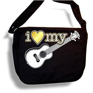 Ukulele I Love My - Sheet Music Accessory Bag MusicaliTee