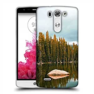 Snoogg Rock In The River Designer Protective Phone Back Case Cover For LG G3 BEAT STYLUS