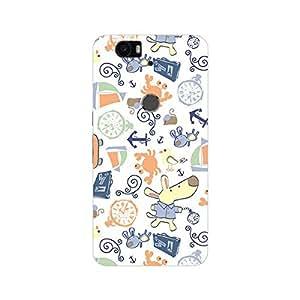 Huawei Nexus 6P Cover, Premium Quality Designer Printed 3D Lightweight Slim Matte Finish Hard Case Back Cover for Huawei Nexus 6P-Giftroom-546