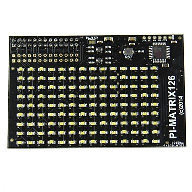 Zcl Pi Lite / Pi Matrix - Lots Of 126 Leds For The Raspberry Pi , White