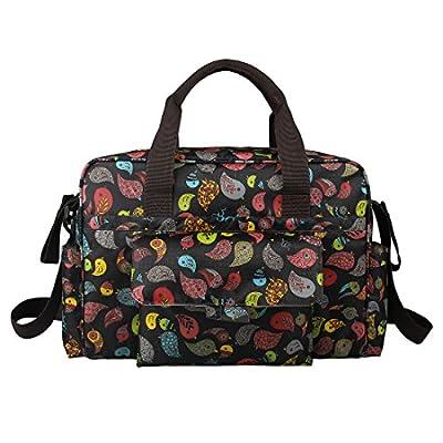 ECOSUSI Diaper Tote Bags Fashion Mummy Shoulder Bag Colorful Childhood