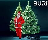 Weihnachtsbaum Buri® mit 2096 Spitzen 240 cm inklusive Weihnachtsmannkostüm