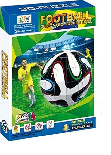 3D-Puzzle-3D-Fuball-Es-dauert-zwischen-60-und-90-Minuten-um-den-Brazuca-richtig-zusammenzustecken-Findige-Bastelfchse-stecken-den-offiziellen-Fuball-der-WM-2014-mit-System-zusammen-und-erhalten-so-das
