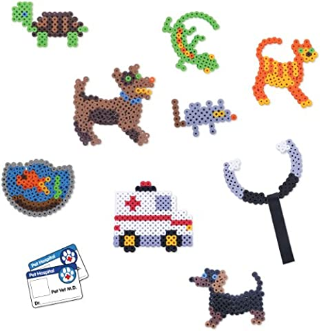 Perler Fun Fusion Fuse BIGGIE Bead Activity Kit-Pets 'n Vet