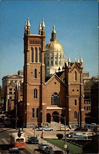 Immaculate Conception Church Atlanta, Ga Original Vintage Postcard