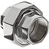 Chrome Plated Brass Pipe Fitting, Union, NPT Female