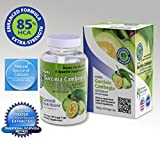 Garcinia Cambogia Suppressants Supplements Maximum Strengh: 85% HCA Complex: + No Fillers: No Binders: Veggi Caps: Pure + Natural(Natural Water Extracted, No Harsh Solvent): Clinical Strength Formula: + Natural Calcium Source from Plant, 750mg/ 60 capsules