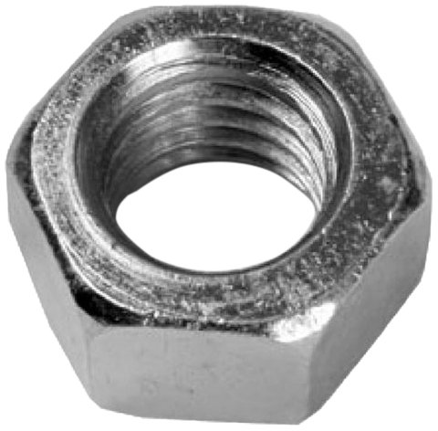 L.H. Dottie Hn632 Hex Nut For Machine Screw No.6-32 Tpi, Zinc Plated, 100-Pack