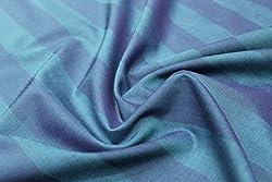 Mirza Fabrics Men's Shirt Fabric(Shades of Blue)