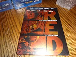 RED (Steelbook) (Limited Edition) [Blu-ray +DVD] [Import]