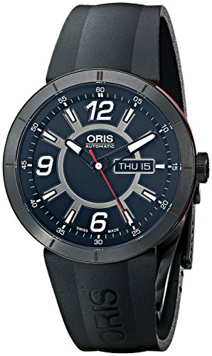 Oris-Mens-73576514764RS-TT1-diver-Analog-Display-Swiss-Automatic-Black-Watch