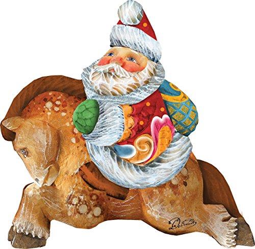 G. DeBrekht Artistic Studios Christmas Ornament 63123
