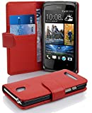 Cadorabo - Book Style Hülle für HTC DESIRE 500 - Case