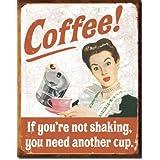 Coffee! Retro Vintage Tin Sign