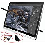 Huion 21.5 Inches Interactive IPS Pen Display Tablet Monitor (1920x1080 Native Resolution) - GT-220 w/ Glove