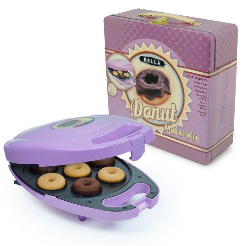 bella 13825 mini donut maker purple. Black Bedroom Furniture Sets. Home Design Ideas