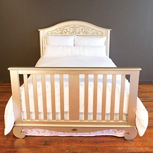 Bratt Decor chelsea lifetime crib antique silver 4