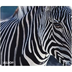 Allsop Nature s Smart Mouse Pad Zebra 60 % Recycled Content, Anti-Microbial (29881)