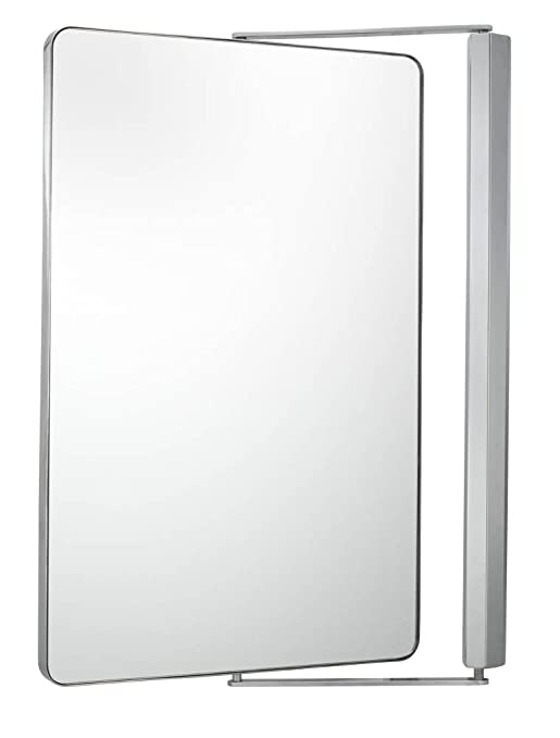 Aptations 33041 Sergena Metro Pivot Mirror, Chrome