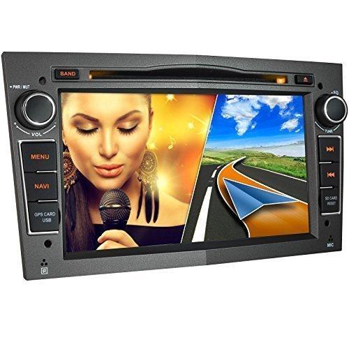 OPEL-01EU-Autoradio-fr-OPEL-Corsa-Astra-Vectra-Zafira-Antara-Meriva-Vivaro-Moniceiver-Naviceiver-mit-GPS-Navigation-NAVI-Software-inkl-Europa-Karten-49Lnder-Bluetooth-Freisprechfunktion-7-18cm-Touchsc