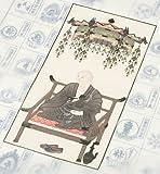 四国八十八ヶ所霊場 納経軸 墨彩 金剛弘法大師【お遍路用品/巡礼用品】 (尺八長)