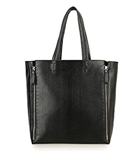 Tom Clovers Genuine Leather Women's OverSized Tote Handbag