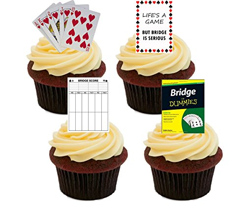bridge-card-game-edible-cupcake-toppers-stand-up-wafer-cake-decorations-pack-of-12