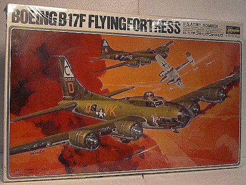 1/72 B-17F US Airforce Bomber Model Kit