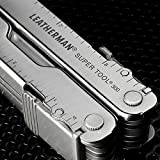 Leatherman - Super Tool® 300 Multi-Tool, Stainless Steel with Leather Sheath