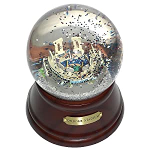 MLB Los Angeles Dodgers Stadium Los Angeles Dodgers Musical Globe by Sports Collector