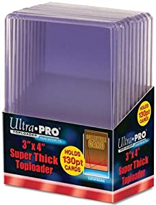 "ULTRAPRO 3"" X 4"" SUPER THICK TOPLOADER (japan import)"
