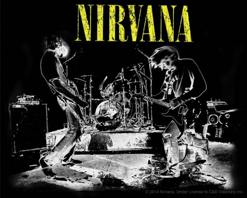 Licenses Products Nirvana Live Sticker