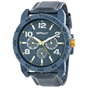 Sprout Unisex ST/7002GYGY Tyvek Grey Recycled Strap Multi-Function  Watch