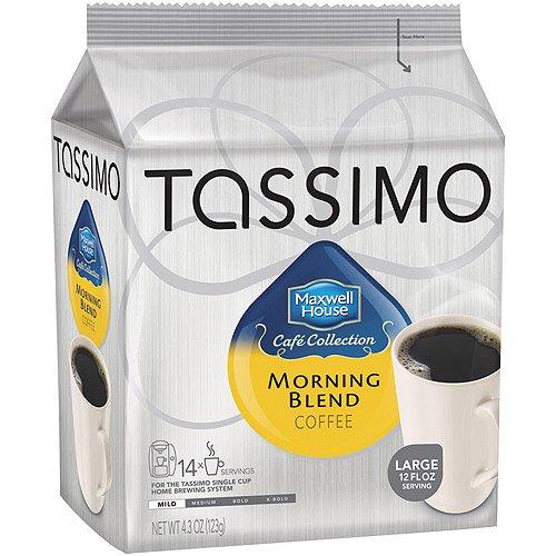 Tassimo Maxwell House Morning Blend - Mild - 14 T-Discs