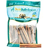 Supreme 6-inch Bully Sticks by Best Bully Sticks (25 Pack) Made of All Natural, Free Range, Grass Fed Beef and Packed with Lean Protein to Support a Healthy Diet - Hand-Inspected and USDA/FDA Approved