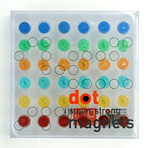 Super Strong Mini Multi Color Magnet 36-Piece Set