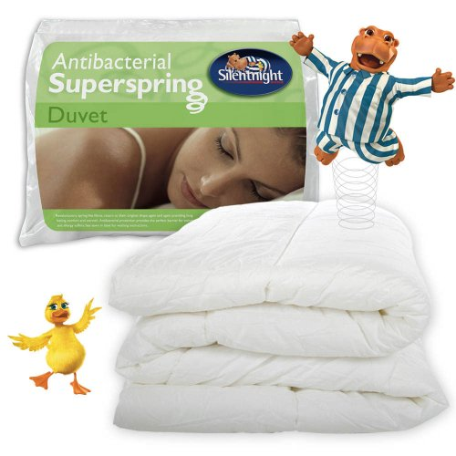 Silentnight Soft and Cosy Superspring Duvet 10.5 Tog - Anti Bacterial