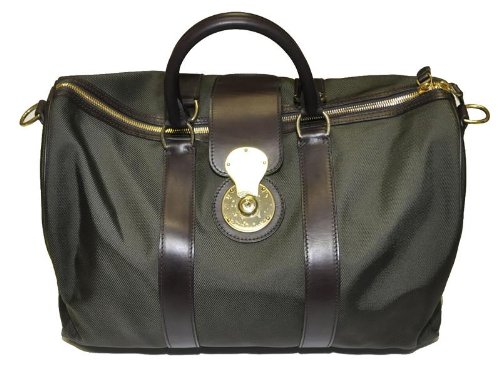 Ralph Lauren Men Logo Sport Duffle Bag – Made in Italy
