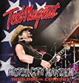 Ted Nugent - Motor City Mayhem - The 6000TH Show Vinyl 3-LP Import 2013 (PRE-ORDER)