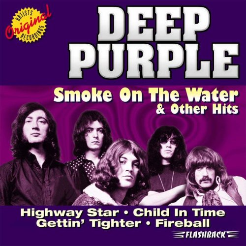Original album cover of Smoke on the Water & Other Hits by Deep Purple