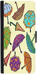 Snoogg Abstract Rainy Season Background With Umbrellasdesigner Protective Fli...