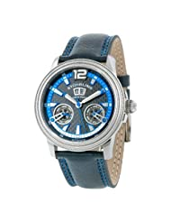 Stuhrling Original Men's 275.331551 Saturnalia GTS Automatic Black/Blue Watch